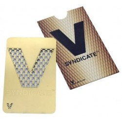 Credit Card Grinder: V Classic - GOLD *