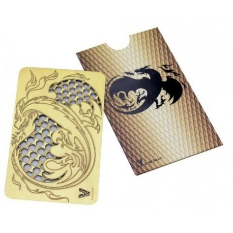 Credit Card Grinder: Dragon - GOLD *